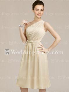 Destination Chiffon One-Shoulder Maids Dresses  http://www.inweddingdress.com/style-br126.html
