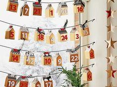 Do It Yourself: Adventskalender fürs Fenster selber machen. DIY-Anleitung via DaWanda.com