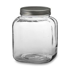 Anchor Hocking® Glass Cracker Jar - BedBathandBeyond.com These are great too! 1 gallon size! 5.99