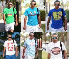 Japanese Funny, Happy Design, Baseball Players, Funny Tshirts, Mens Fashion, Boys, Sports, Mens Tops, T Shirt