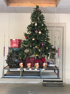Our motorized garage lift system is the perfect addition to any new house to help with attic storage, garage storage or garage organization. Garage Storage Solutions, Garage Organization, Organizing, Lifehacks, Attic Lift, Garage Lift, Christmas Tree Decorations, Holiday Decor, Garage Remodel