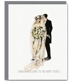 Wedding Mr & Mrs Glitter Greeting Card
