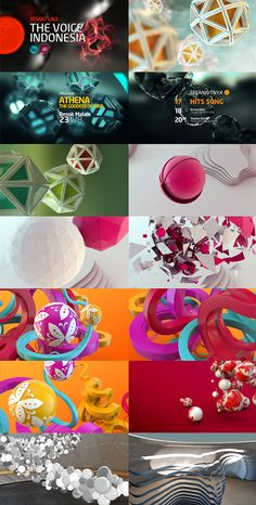 style frames - motion design Indosiar Channel Rebrand by koes adio, via Behance