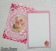 Kristins lille blogg: Bursdagskort til Wenche