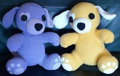 Ravelry, #crochet, free pattern, amigurumi, stuffed toy, dog, puppy, #haken, gratis patroon (Engels), hond, puppy, knuffel, speelgoed, #haakpatroon