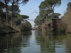 I capanni di pesca.  www.slowsports.it