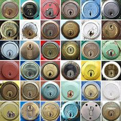 Flickr user chrisinplymouth's wonderful collection of doorlocks and letters. See also his collections of emergency onlys, chocolate money, and remote controls. (via modcult)