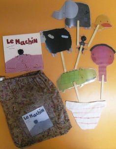 sacs à album La moufle et Le machin chez Vivi: photos 2014 - école petite section