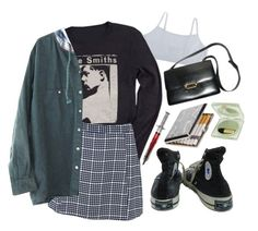meat is murder by thesmiths84 on Polyvore featuring polyvore, fashion, style, Glamorous, Converse, Hermès, Estée Lauder and clothing