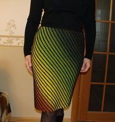 Диагональное вязание юбки спицами. Обсуждение на LiveInternet - Российский Сервис Онлайн-Дневников