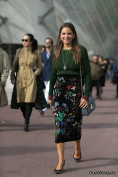 Paris Fashion Week весна-лето 2016 - street style
