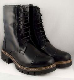 Poze Ghete negre talpa groasa Olivia Dr. Martens, Combat Boots, Shoes, Fashion, Moda, Zapatos, Shoes Outlet, Fashion Styles, Combat Boot