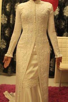 Brokat indah Kebaya Lace, Kebaya Dress, Dress Pesta, Hijab Dress, Batik Fashion, Abaya Fashion, Muslim Fashion, Fashion Dresses, Modest Wear