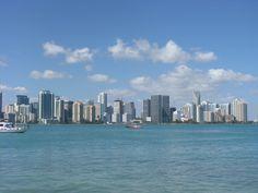 Miami from Rusty Pelican
