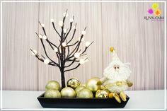 ¡¡Te mostramos esta excelente y elegante idea para decorar tu hogar en las próximas fiestas navideñas!!