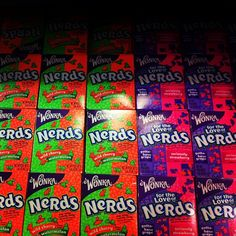 Nerds, used to buy them from the ice cream truck after school