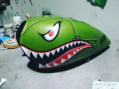 Custom Motorcycle Paint Jobs, Custom Paint Jobs, Custom Motorcycles, Custom Bikes, Custom Cars, Motos Honda, Pinstripe Art, Pinstriping Designs, Motorcycle Tank