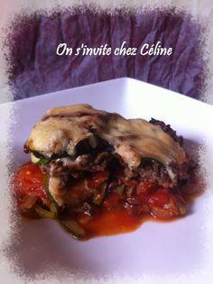 Gratin de légumes au Saint Nectaire - On s'invite chez Céline