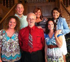 Tom and Joyce Nickel blended family