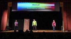 """""""Side of Flexible with Your Sexual"""" is a comical skit created by students in Awareness through Performance (ATP) at the University of Wisconsin - La Crosse during the spring 2012 season. The scene provides a comedic and informative approach to educate audience members about the many sexual identities belonging on the spectrum of sexual orientation including: gay, lesbian, asexual, pansexual and questioning."""