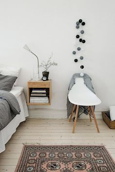 8 Determined Hacks: Floating Shelves Styling Fixer Upper floating shelf over couch cabinets.How To Build Floating Shelves Love floating shelves design display.Floating Shelves With Tv Couch. Home Bedroom, Bedroom Furniture, Bedroom Decor, Modern Bedroom, Bedroom Ideas, Bedrooms, White Bedroom Chair, Scandinavian Bedroom, Scandinavian Style