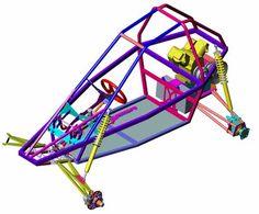 autocad buggy plans
