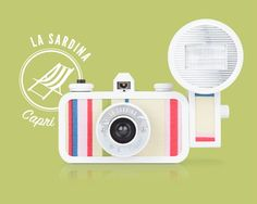 Summer is almost here and we all want to head to the beach. Pack a La Sardina Camera St. Tropez edition with you and make your vacation truly unforgettable! Boasting a wide-angle lens, simple focus settings and a unique design, this camera package is the ideal companion to your coastal escapades. shop.lomography.com