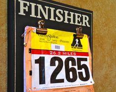 Race bib Holder and Medal display holder - Marathon, Half Marathon Gifts - FINISHER runner gifts, running bibs display, half marathons, bib display, gifts for runners, displaying race bibs, gifts for marathon runners, running gifts, fitness gifts