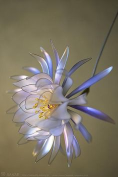 a ornamental hairpin, called 'kanzashi'