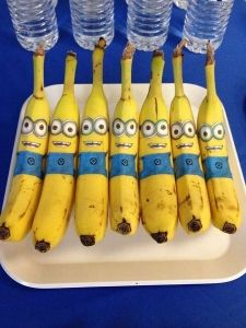 Funny bananas at a Minion birthday party! See more party planning ideas at Catc… Funny bananas at a Minion birthday. Minion Theme, Minion Birthday, Boy Birthday, Birthday Ideas, Park Birthday, Happy Birthday, Birthday Party Decorations Diy, 6th Birthday Parties, Minion Party Decorations