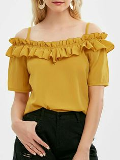 Online Blouse Shopping, Stylish Tops For Women, Diy Clothes And Shoes, Shirt Dress Pattern, Midi Skater Dress, Pull, Blouse Designs, Chiffon Tops, Plus Size Outfits