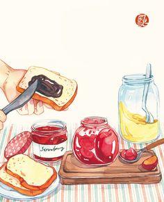 《小食光,一個人的美食手賬》
