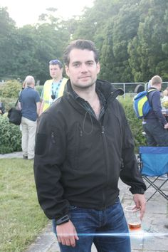 Henry Cavill spotted at The Groove Festival in Bray, Ireland