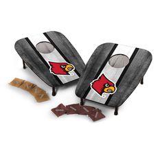 NCAA Wild Sports 1 Hole Bean Bag Toss Louisville Cardinals