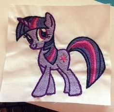 Twilight Sparkle: Miss Mary's Embroidery