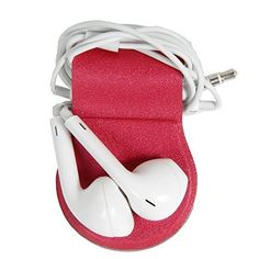 Special Offers - Hermitshell Headphone Wrap Magnetic Earphone In-ear Earbud Cord Organizer Clip for Bose AKG Audio-technica Jaybird Panasonic JVC Brainwavz Beats Apple Samsung Musicians Sport Runner Outdoor Red For Sale - In stock & Free Shipping. You can save more money! Check It (November 01 2016 at 01:32PM)…