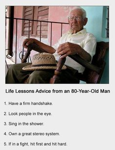 LOVE QUOTE : zengardenamaozn: Life Lessons from an Man With age comes great Old Man Quotes, Wise Man Quotes, Badass Quotes, Life Quotes, Happy Quotes, The Book Thief, Girl Facts, Life Words, Coming Of Age