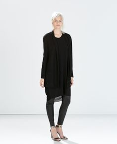 Black Loose Blazer   Zara