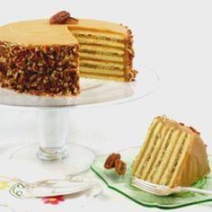 Caramel Praline Cake
