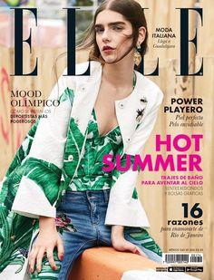 Agustina Benvenuto by Santiago Ruisenor for Elle Mexico June 2016 - Dolce&Gabbana