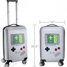 La valise de voyage Game Boy