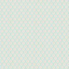 Might be a pretty fabric for the nursery From Carousel Designs.  Aqua Medallions 500x500 image http://www.babybedding.com/aqua-medallions-fabric