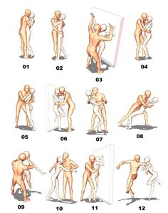 AnatoRef Couple Poses Drawing, Cute Couple Poses, Couple Drawings, Couple Posing, Poses Dynamiques, Art Poses, Yoga Poses, Character Poses, Character Design References