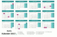 Kalender 2017 für Berlin http://www.kalender-2017.net/feiertage-berlin/