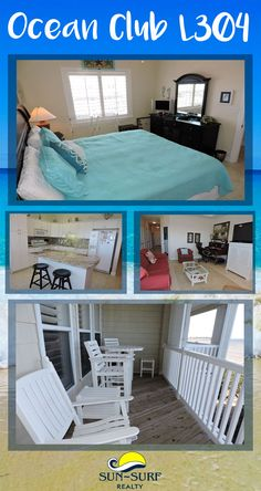 This top floor soundfront condominium features a furnished 26ft private, covered deck with wonderful unobstructed views. 3-bedrooms of glorious condo living!