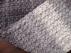 Mesh Stitch Crochet Scarf – Free Crochet Pattern