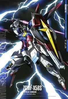 Mobile Suit Gundam Seed Destiny - ZGMF-X56S Impulse Gundam