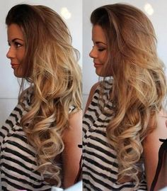 Love the Ombre colour and waves!!!!