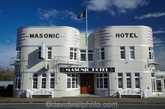 Masonic Hotel 1937 ~ South Canterbury, New Zealand