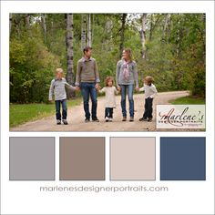Grey and Taupe Colour Palette